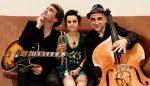 Josep Traver, Andrea Motis i Joan Chamorro, en una imatge promocional
