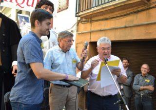 Miquel Sánchez jura el càrrec de Miquel de l'Any 2018 // DGM
