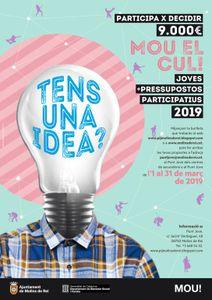 Cartell del Mou! el Cul! 2019 // Ajuntament de Molins de Rei