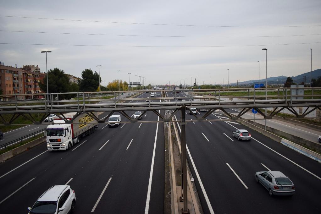 Noves pantalles acústiques a l'autopista