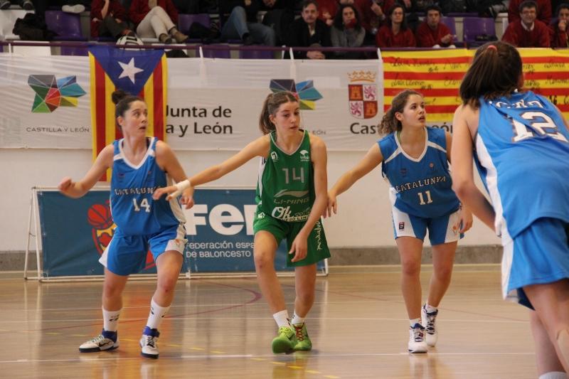 Capella és habitual de la selecció catalana femenina // CB Almeda