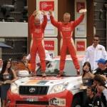 Xavi Foj és campió del Dakar 2012