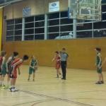 La intensitat feta bàsquet