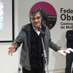 El president del CEM, Ferran Estela, va recollir el premi en nom de l'entitat // Ajuntament de Molins de Rei