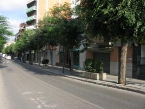 Un dels carrers afectats va ser el carrer Jacint Verdaguer // Iniciativa per Molins de Rei