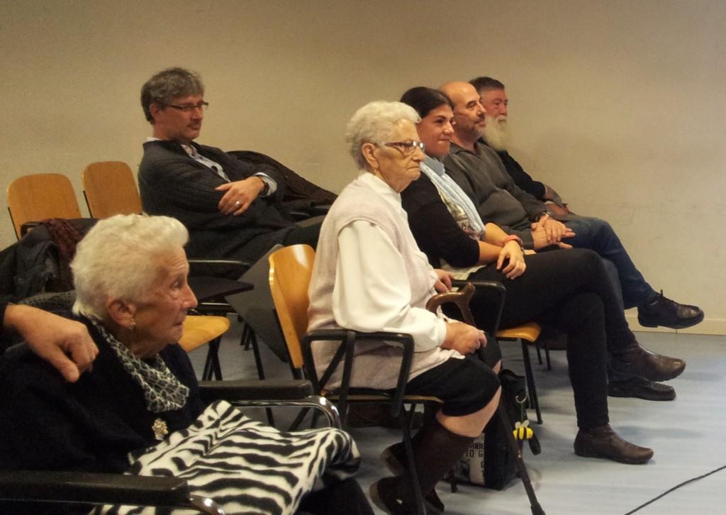 Alguns dels candidats al premi Molinenc/a d'Honor durant la presentació // Jose Polo