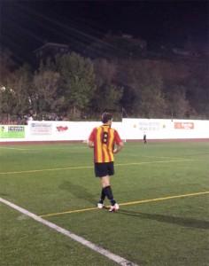 Carles Capella va fer un gran gol a la segona part // Jose Polo