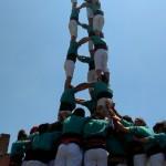 Històrica diada castellera d'aniversari dels Matossers amb els castellers de Vilafranca
